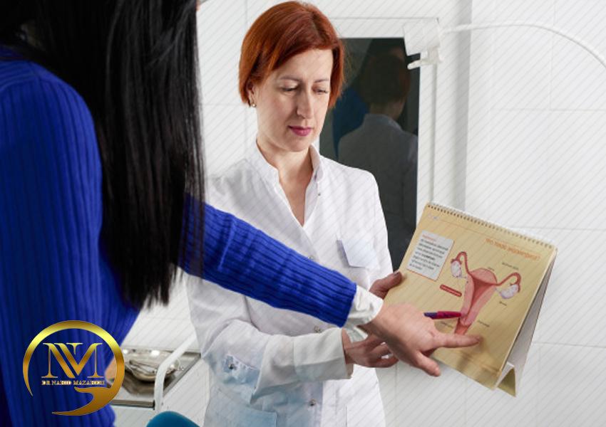 درمان انواع بیماری های زنان