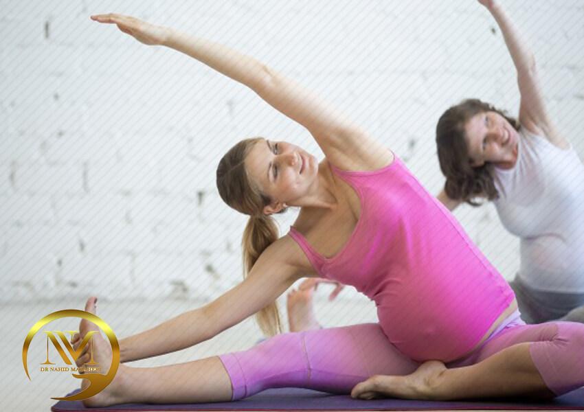 مزایای ورزش در بارداری